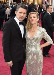Ethan Hawke z żoną