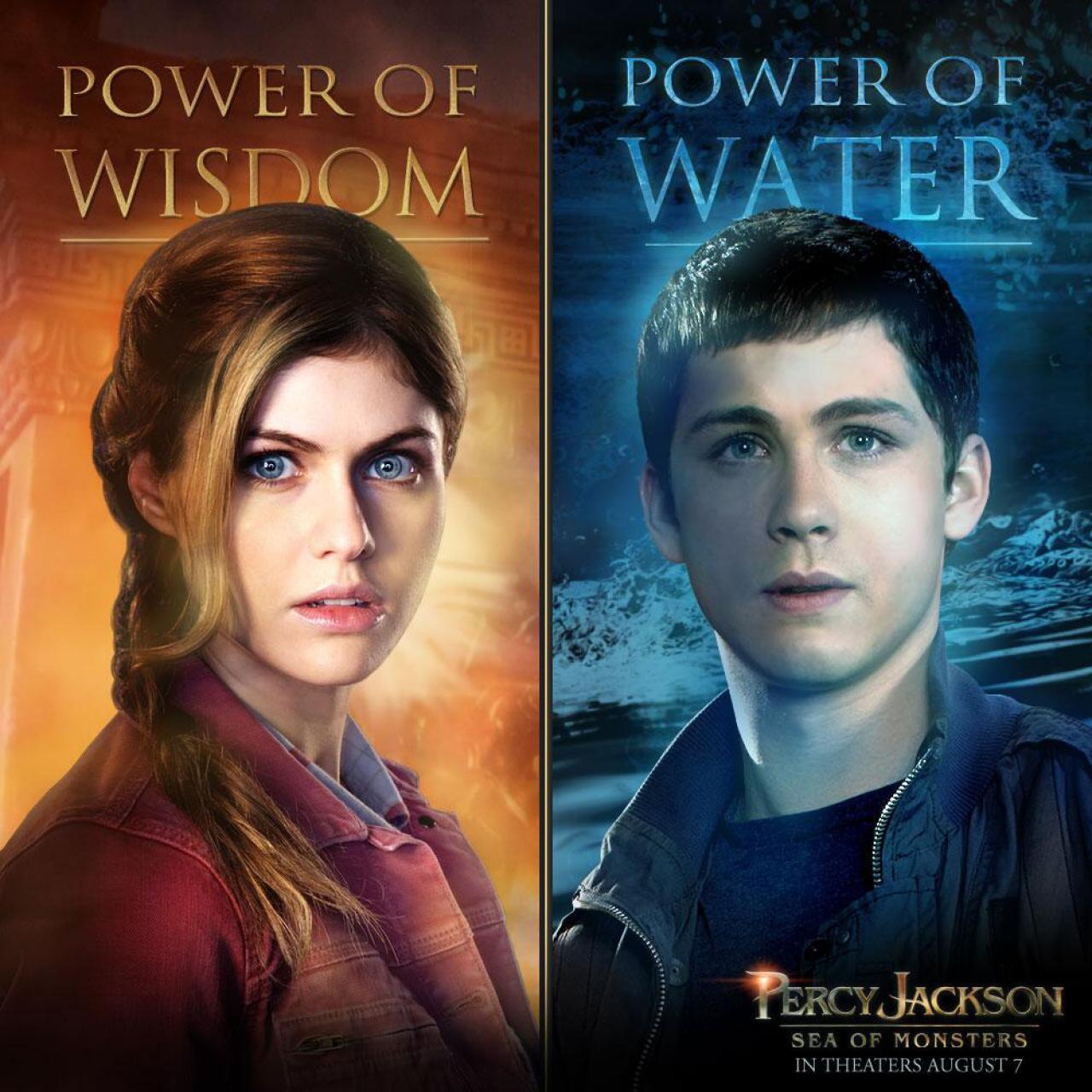 New Character Posters For Percy Jackson Sea Of Monsters