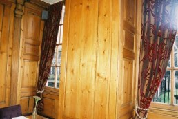 CC dining rooms 17th c panelling