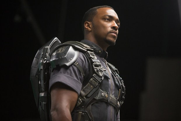 Marvel's Captain America: The Winter Soldier..Falcon/Sam Wilson (Anthony Mackie)..Ph: Zade Rosenthal..? 2014 Marvel.  All Rights Reserved.