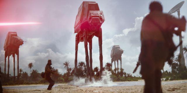 Rogue One AT AT Beach