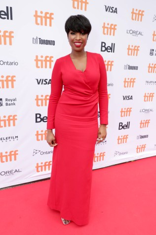 """Jennifer Hudson seen at Universal Pictures """"Sing"""" at the 2016 Toronto International Film Festival on Sunday, Sept. 11, 2016, in Toronto. (Photo by Eric Charbonneau/Invision for Universal Pictures/AP Images)"""