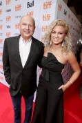 """Producer Christopher Meledandri and Tori Kelly seen at Universal Pictures """"Sing"""" at the 2016 Toronto International Film Festival on Sunday, Sept. 11, 2016, in Toronto. (Photo by Eric Charbonneau/Invision for Universal Pictures/AP Images)"""
