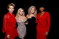 "Scarlett Johansson, Reese Witherspoon, Tori Kelly and Jennifer Hudson seen at Universal Pictures ""Sing"" at the 2016 Toronto International Film Festival on Sunday, Sept. 11, 2016, in Toronto. (Photo by Eric Charbonneau/Invision for Universal Pictures/AP Images)"