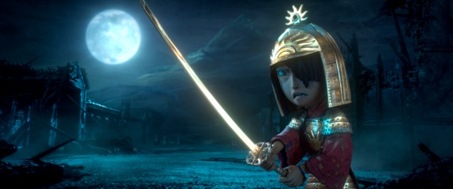 3200.0250.still.laika.0002 Kubo (voiced by Art Parkinson) faces off against the vengeful Moon King in animation studio LAIKA's epic action-adventure KUBO AND THE TWO STRINGS, a Focus Features release. Credit: Laika Studios/Focus Features