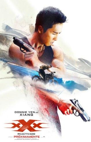 Donnie Yen es Xiang en 'xXx: Reactivado'