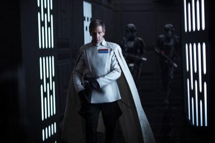 Rogue One: A Star Wars Story..Director Krennic (Ben Mendelsohn)..Ph: Jonathan Olley..© 2016 Lucasfilm Ltd. All Rights Reserved.