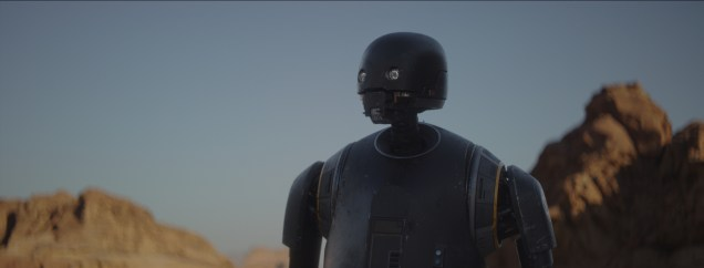 Rogue One: A Star Wars Story..K-2SO (Alan Tudyk)..Ph: Film Frame..© 2016 Lucasfilm Ltd. All Rights Reserved.