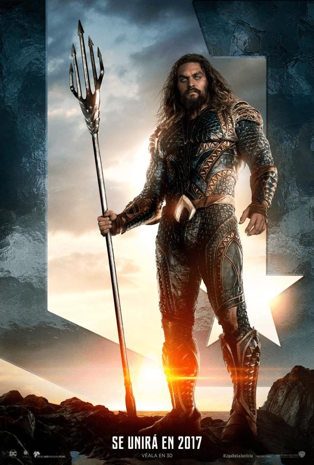 Justice League - LATAM Aquaman Posters Personajes