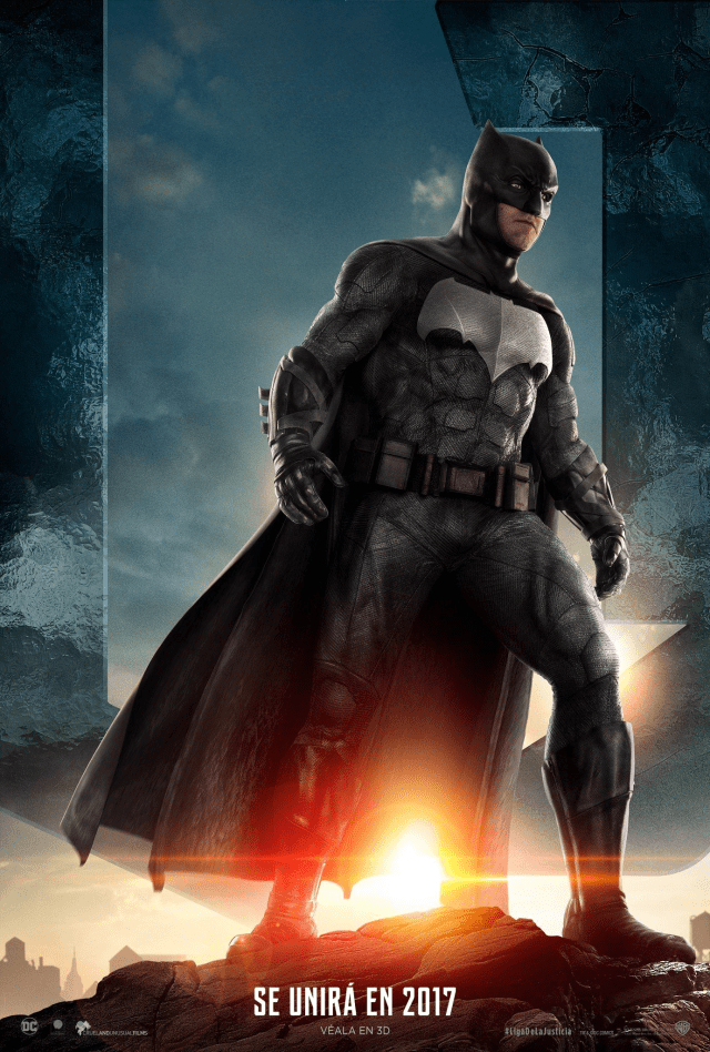 Justice League - LATAM Batman Posters Personajes