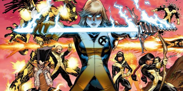 X-Men New Mutants Comic