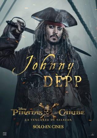 Piratas del Caribe: La Venganza de Salazar CineMedios Jack