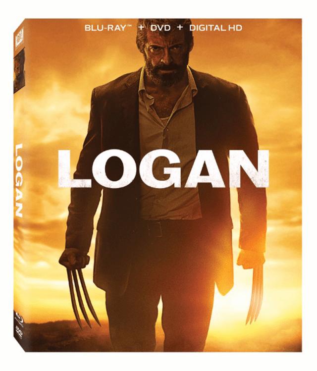Logan US Blu-ray Combo