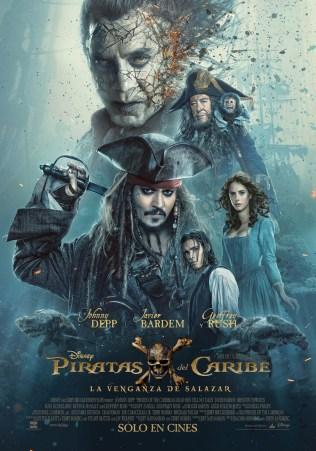 Piratas del Caribe: La Venganza de Salazar CineMedios