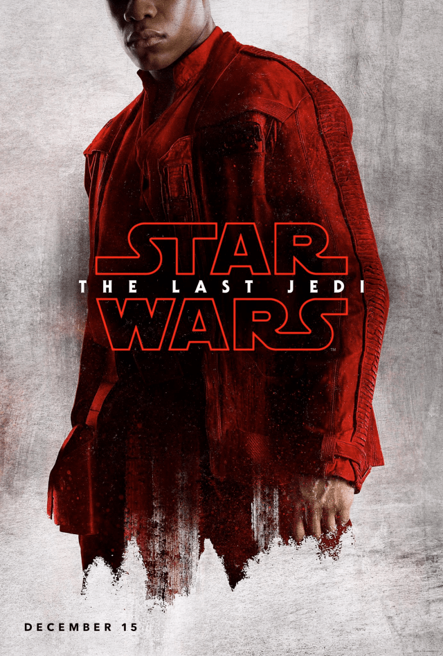 Star Wars The Last Jedi D23 Finn Poster