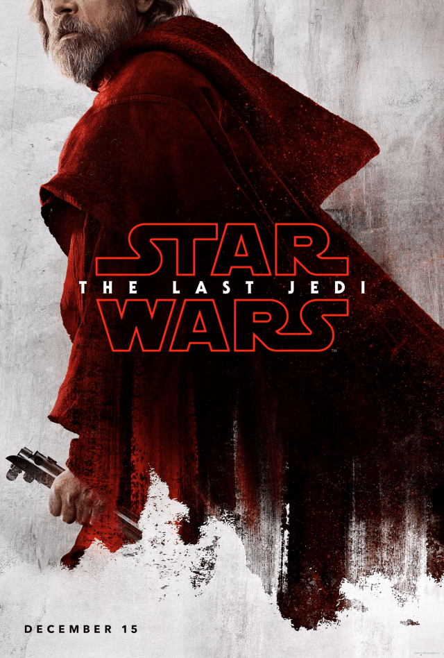 Star Wars The Last Jedi D23 Luke Poster