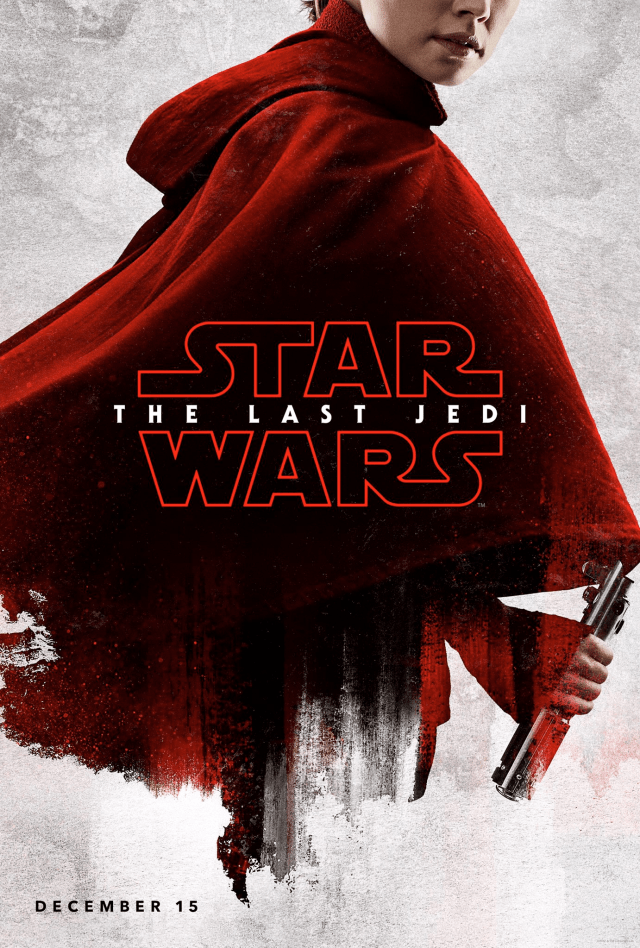Star Wars The Last Jedi D23 Rey Poster