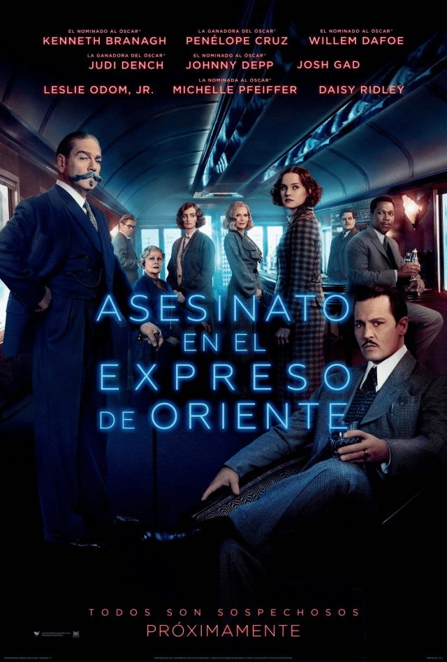 Murder on the Orient Express Poster Latino 3