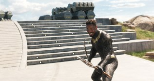 Marvel Studios' BLACK PANTHER Erik Killmonger (Michael B. Jordan) Ph: Film Frame ©Marvel Studios 2018