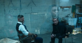 Marvel Studios' BLACK PANTHER L to R: Ulysses Klaue (Andy Serkis) and Everett K. Ross (Martin Freeman) Ph: Film Frame ©Marvel Studios 2018