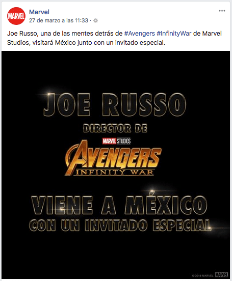 Joe Russo viene a Mexico.png