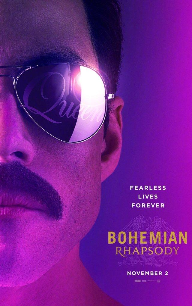 queen bohemian rhapsody poster trailer oficial