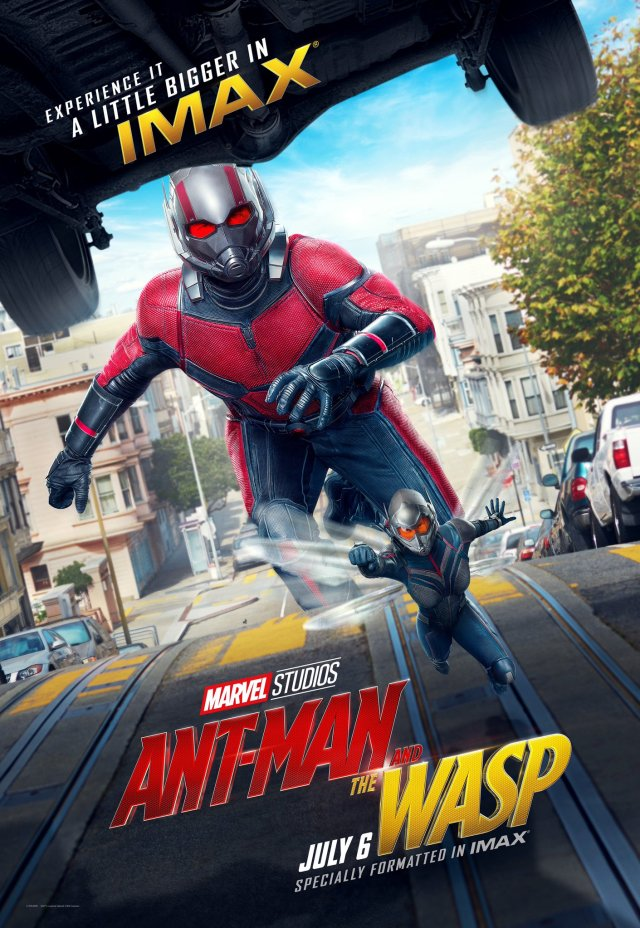 ant man and the wasp poster imax