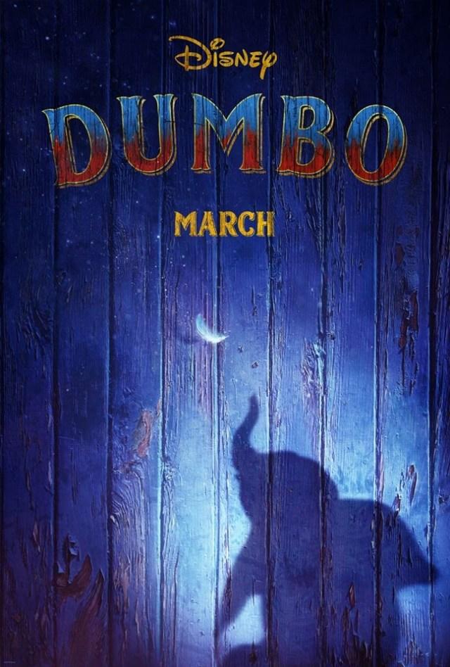 dumbo disney tim burton poster