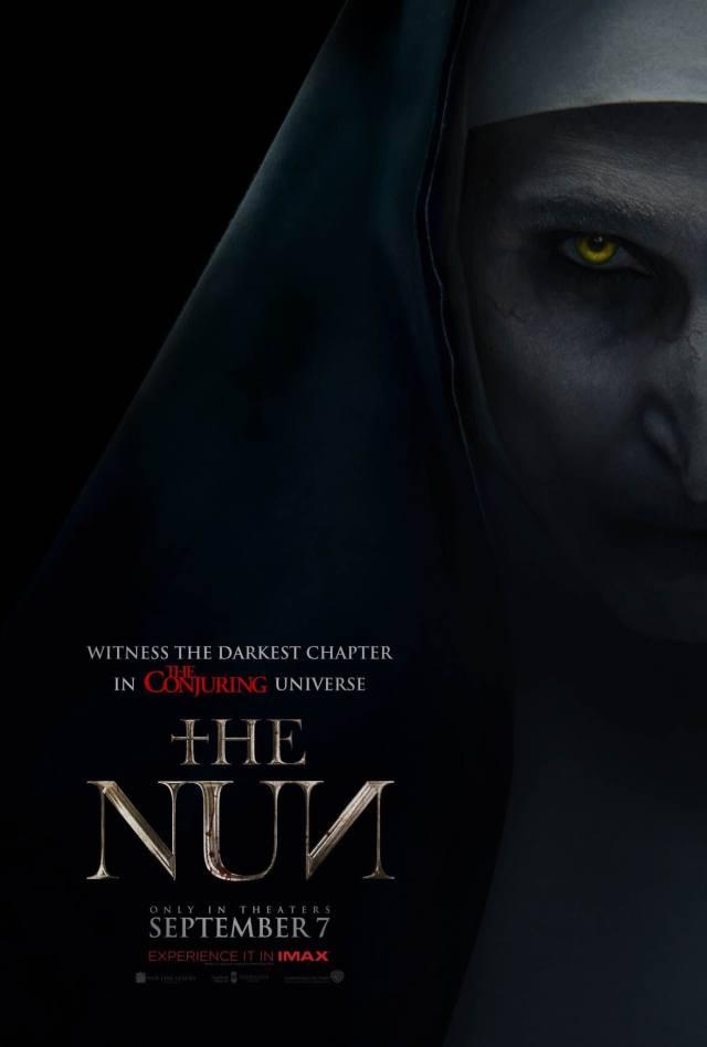 the nun poster oficial el conjuro