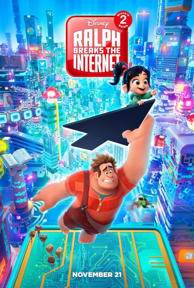 wifi ralph ralph el demoledor 2 trailer 2 poster