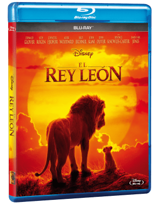 PACK BLU RAY EL REY LEON LIVE ACTION