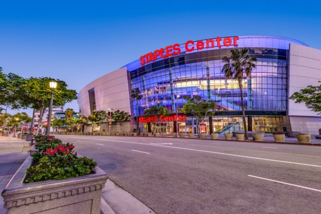 staples center los angeles grammy awards 2020