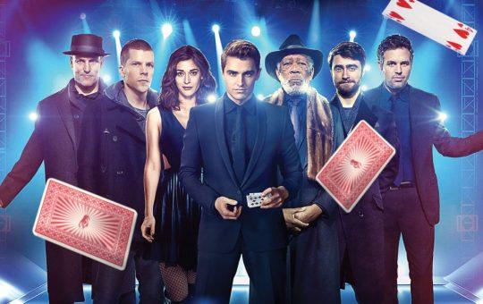fotografía del elenco de los ilusionistas 2