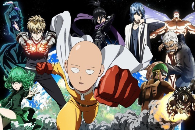personajes de one punch man anime