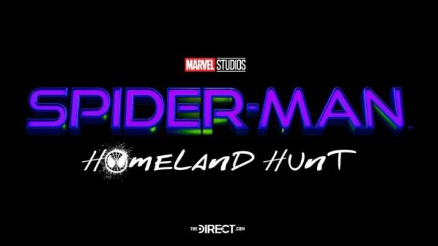 logo título spider man 3 homeland hunt