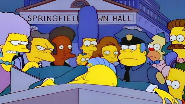 quién mató al señor burns los simpson