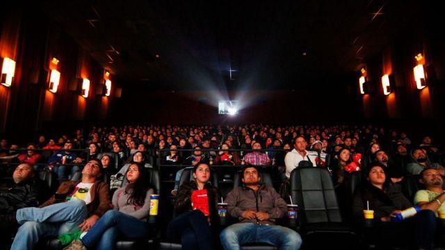 fotografía de sala de cine