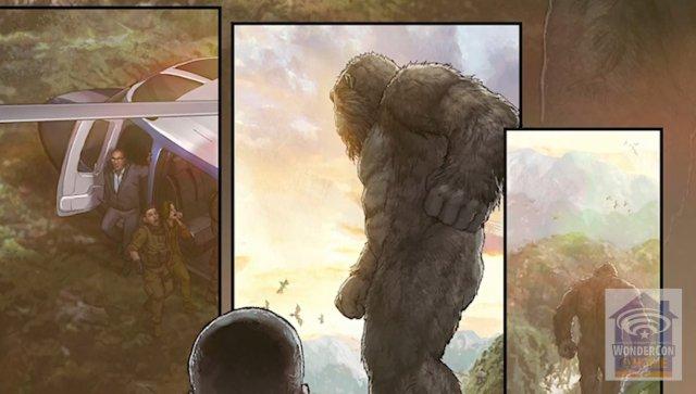 Imagen cómic precuela Godzilla vs. Kong