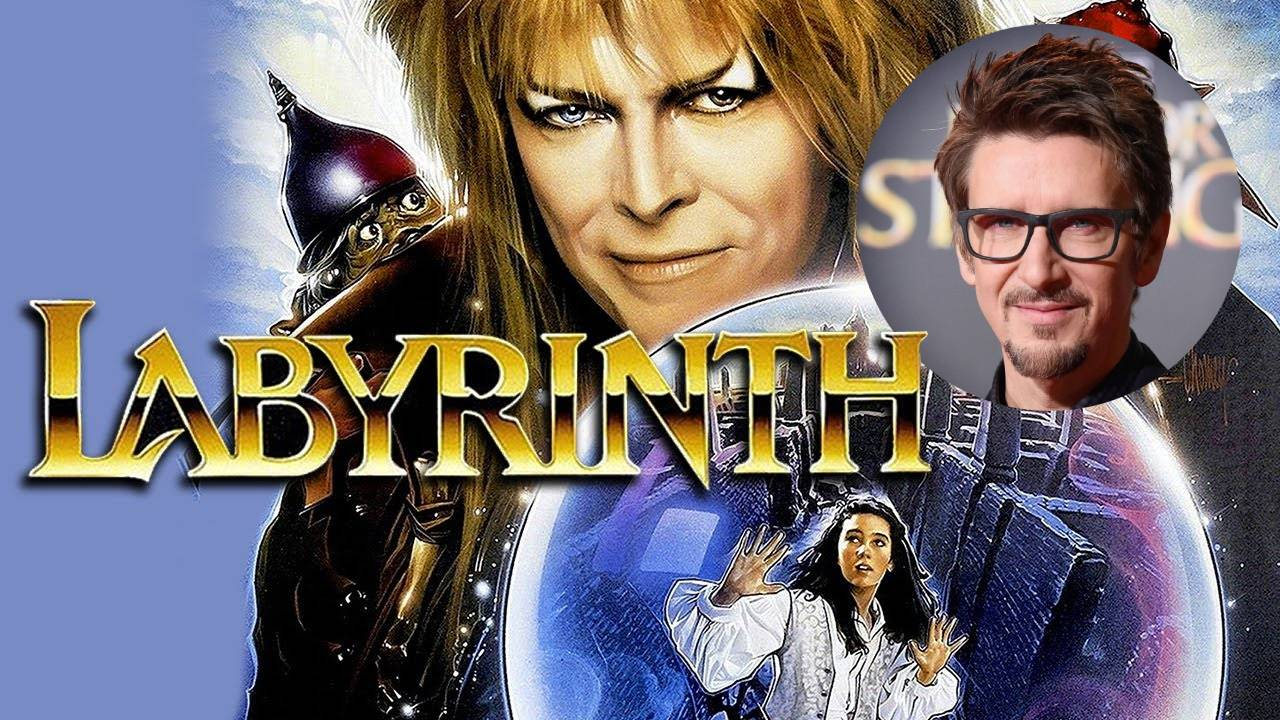 Póster de Labyrinth con fotografía de Scott Derrickson