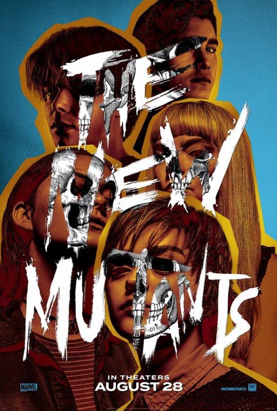 póster de los nuevos mutantes the new mutants agosto 2020