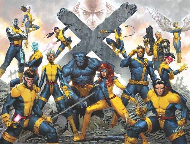Ilustración de los X-Men