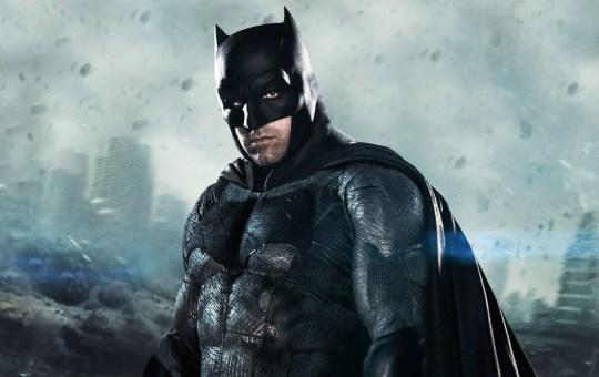 Fotografía de Ben Affleck como Batman