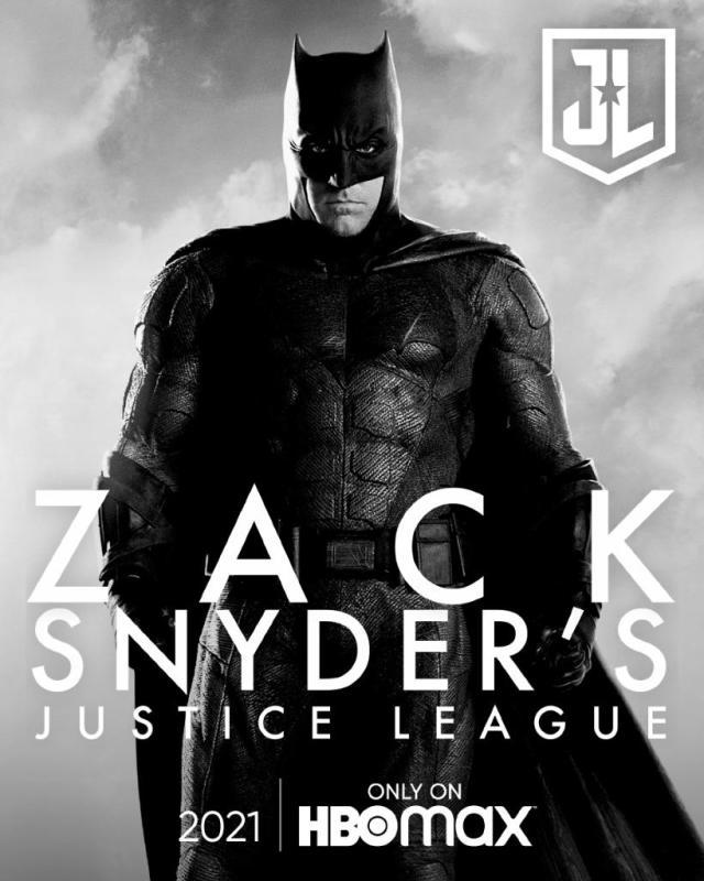 póster oicial snyder cut justice league batman