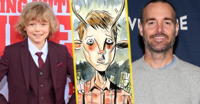 christian convery y will forte con imagen de sweet tooth