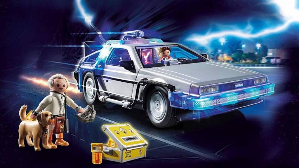Set de Playmobil de Volver al futuro