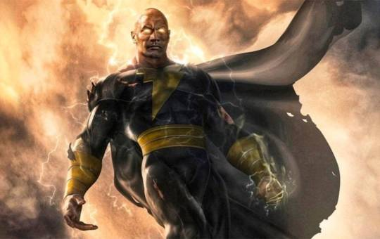 Dwayne The Rock Johnson comfirma oticias de Black Adam en DC FanDom