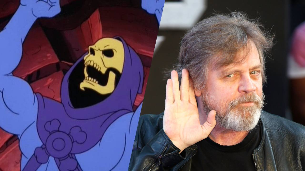 Mark Hamill será Skeletor en Masters of the Universe: Revelation