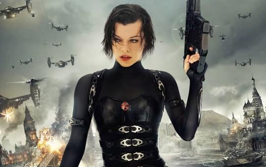 Milla Jovovich en serie de Resident Evil de Netflix