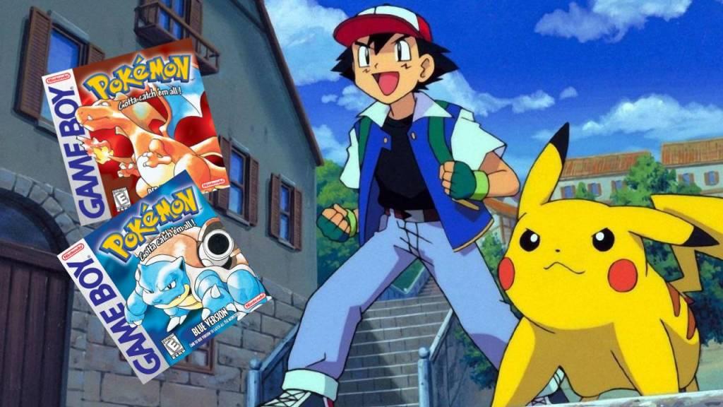 Película live action de Pokémon Rojo y Azul