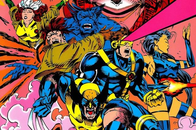 Ilustración de los X-Men en cómics